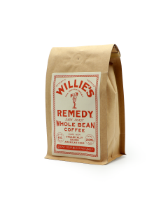 Willie's Remedy Dark Roast Whole Bean Coffee, 8oz (250mg)