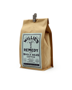Willie's Remedy Decaf Blend Whole Bean Coffee, 8oz (250mg)