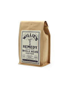 Willie's Remedy Medium Roast Whole Bean Coffee, 8oz (250mg)