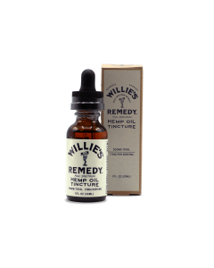 Willie's Remedy Full Spectrum Hemp Oil Tincture 500mg, 1 fl oz (167mg)