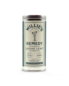 Willie's Remedy Peppermint Tea, 1.5oz Tin (150mg)